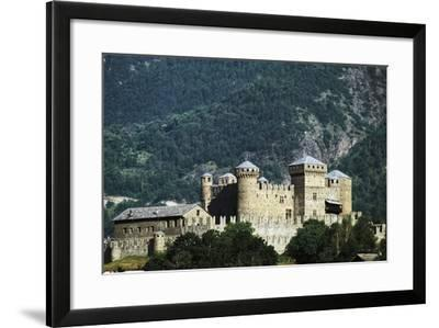Fenis Castle (13th-18th Century), Aosta Valley, Italy--Framed Photographic Print