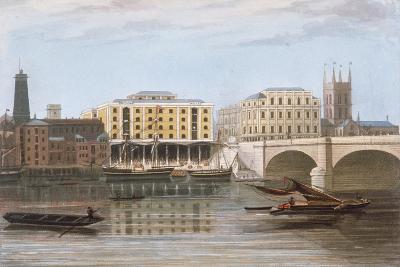 Fenning's Wharf, Bermondsey, London, C1835--Giclee Print