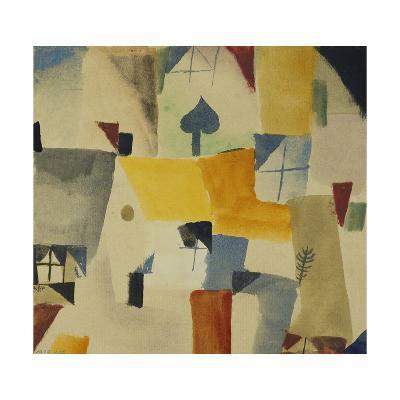 Fenster-Paul Klee-Giclee Print