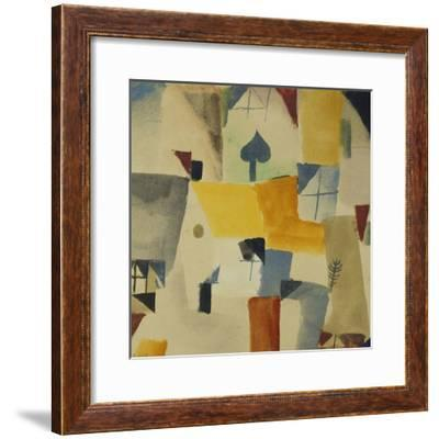 Fenster-Paul Klee-Framed Giclee Print