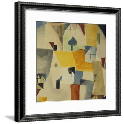 Fenster-Paul Klee-Framed Giclee Print