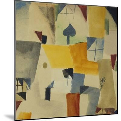 Fenster-Paul Klee-Mounted Giclee Print