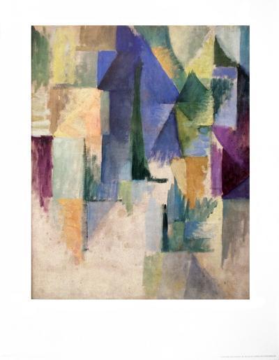 Fensterbild 1912-13-Robert Delaunay-Art Print
