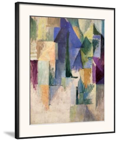 Fensterbild 1912-13-Robert Delaunay-Framed Art Print