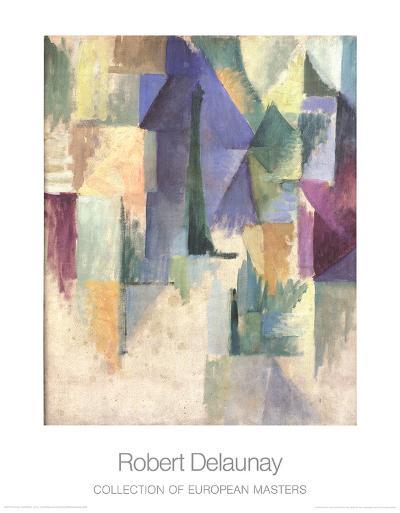Fensterbild-Robert Delaunay-Art Print