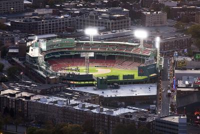 Fenway Park Baseball Ground in Boston, USA--Photographic Print