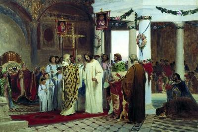 The Baptism of Grand Prince of Kiev Vladimir the Great in 987, 1883