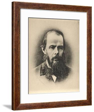 Feodor Dostoievski Russian Writer--Framed Giclee Print