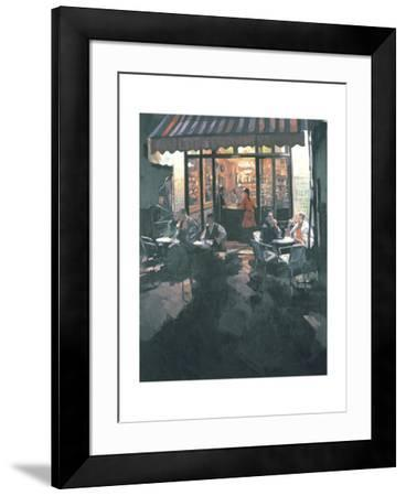 Fer a Cheval Bar, 1986-Hector McDonnell-Framed Giclee Print