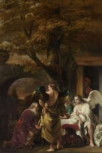 Abraham Entertaining the Three Angels by Ferdinand Bol