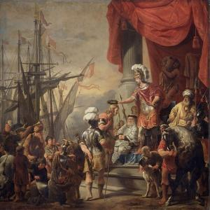 Aeneas at the Court of Latinus by Ferdinand Bol