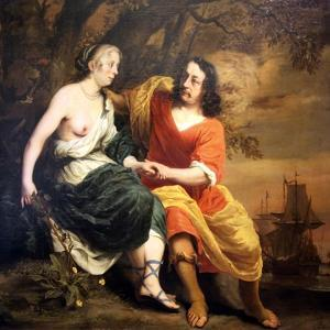 Bacchus and Ariadne, 1664 by Ferdinand Bol