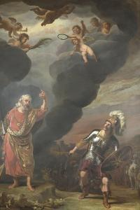 Captain of Gods Army Appearing to Joshua by Ferdinand Bol