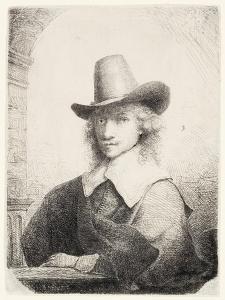Man in High Hat, C.1645-50 by Ferdinand Bol