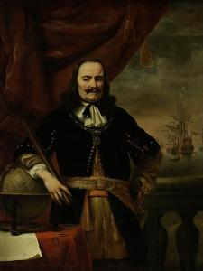 Michiel De Ruyter as Lieutenant-Admiral by Ferdinand Bol