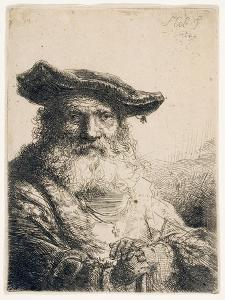 Old Man with Flowing Beard, 1642 by Ferdinand Bol