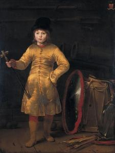 Otto Van Der Waeyen in a Polish Costume, 1656 by Ferdinand Bol