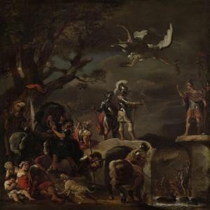 Peace Negotiations Between Claudius Civilis and Quintus Petillius Cerealis by Ferdinand Bol