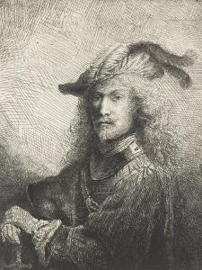 Portrait d'officier by Ferdinand Bol