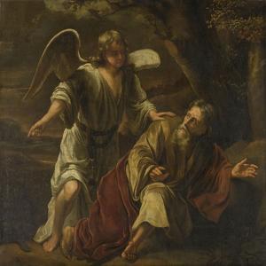 Prophet Elijah Visited by an Angel by Ferdinand Bol