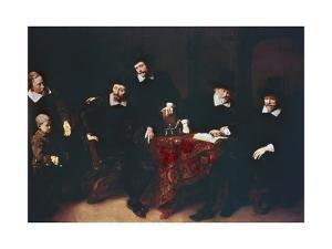 Regents of Leprosy Hospital by Ferdinand Bol