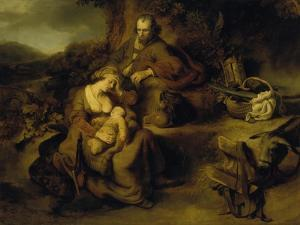 Resting on the Flight to Egypt, 1644 by Ferdinand Bol