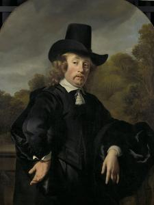 Roelof Meulenaer Amsterdam Mercantile Courier or Postmaster on the Antwerp Route by Ferdinand Bol