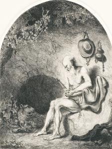 Saint Jerome, 1644 by Ferdinand Bol