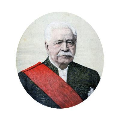 Ferdinand De Lesseps, French Diplomat and Entrepreneur, 1894-Henri Meyer-Giclee Print