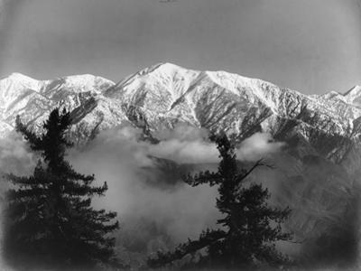 Snow Covered San Antonio Peak as Viewed from Mount Wilson by Ferdinand Ellerman