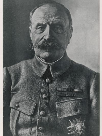 Ferdinand Foch French Military Commander in World War One--Photographic Print