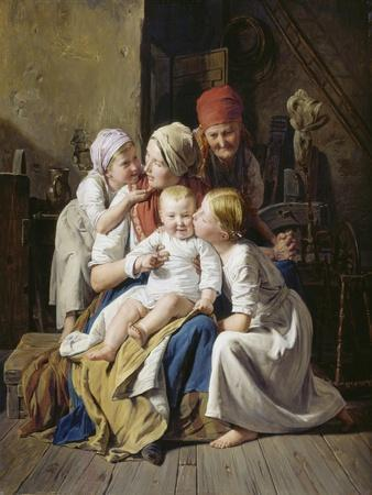 Großmutterfreuden. 1852