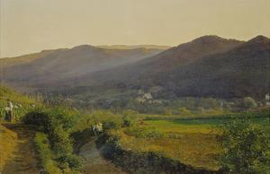 Landschaft Mit Weinbergen by Ferdinand Georg Waldmüller