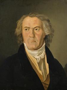 Portrait of Ludwig Van Beethoven (1770-1827) by Ferdinand Georg Waldmuller