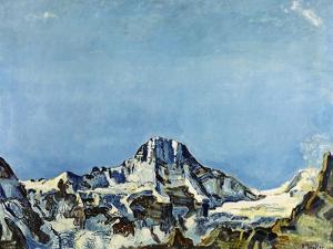 Das Breithorn by Ferdinand Hodler