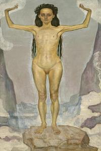 Day (Truth), 1896-98 by Ferdinand Hodler