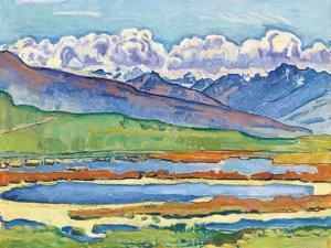Etang Long Crans-Montana, 1915 by Ferdinand Hodler