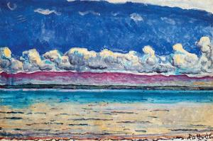 His Lake by Ferdinand Hodler