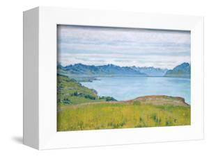 Landscape at Lake Geneva, 1907 by Ferdinand Hodler