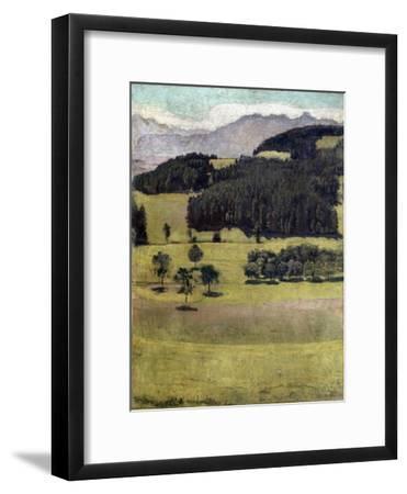Landscape, Oaks at Stockhorn, 1898