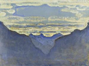 Moonlit Night by Ferdinand Hodler
