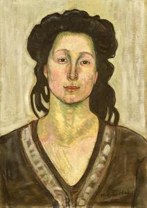 Portrait of Jeanne Cerani, 1910 by Ferdinand Hodler