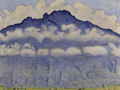 Schynige Platte, paysage de l'Oberland bernois, Suisse ou La Pointe d'Andey vue de Bonneville by Ferdinand Hodler