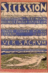 Secession, c.1904 by Ferdinand Hodler