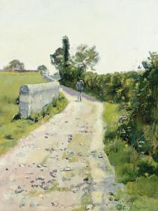 Sunny Path, about 1890 by Ferdinand Hodler