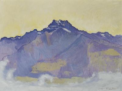 The Dents Du Midi, Viewed from Chesieres, 1912