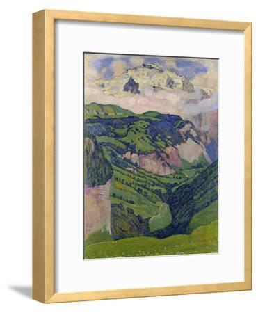 The Jungfrau, View from the Isenfluh, 1902