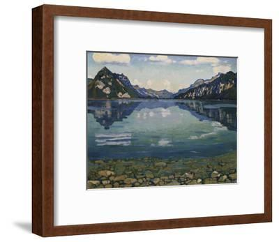 Thunersee with Reflection; Thunersee Mit Grundspiegelung, 1904
