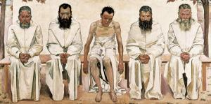 Tired of Life by Ferdinand Hodler