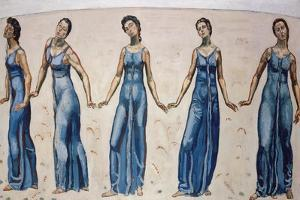View to Infinity by Ferdinand Hodler